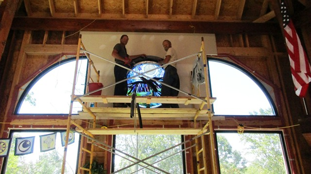 Jay and BJ Install the Crow Window